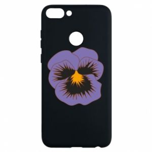 Phone case for Huawei P Smart Pansy Flower