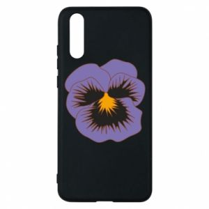 Phone case for Huawei P20 Pansy Flower