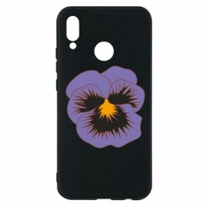 Phone case for Huawei P20 Lite Pansy Flower
