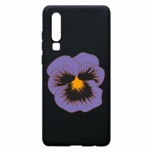 Phone case for Huawei P30 Pansy Flower