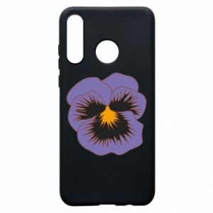 Phone case for Huawei P30 Lite Pansy Flower