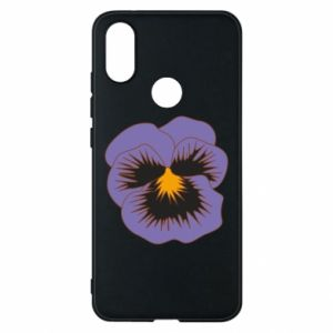 Phone case for Xiaomi Mi A2 Pansy Flower