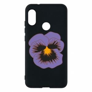 Phone case for Mi A2 Lite Pansy Flower