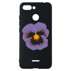 Phone case for Xiaomi Redmi 6 Pansy Flower