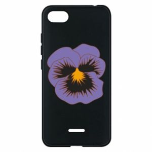 Phone case for Xiaomi Redmi 6A Pansy Flower