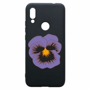 Phone case for Xiaomi Redmi 7 Pansy Flower