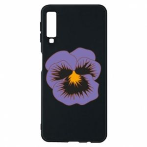 Phone case for Samsung A7 2018 Pansy Flower