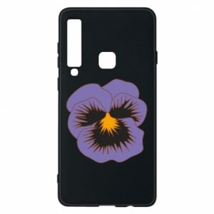 Phone case for Samsung A9 2018 Pansy Flower