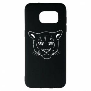 Etui na Samsung S7 EDGE Panther black