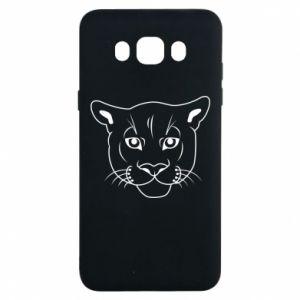 Etui na Samsung J7 2016 Panther black