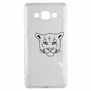 Etui na Samsung A5 2015 Panther black