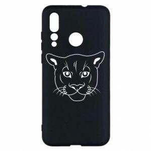 Etui na Huawei Nova 4 Panther black