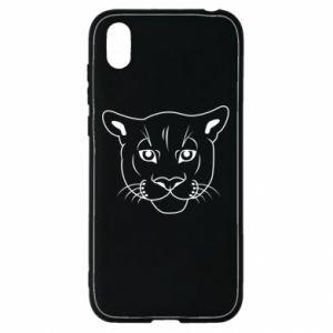 Etui na Huawei Y5 2019 Panther black
