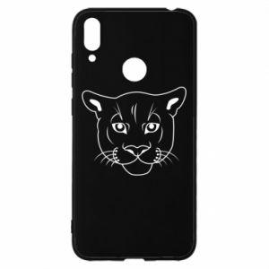 Etui na Huawei Y7 2019 Panther black