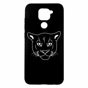 Etui na Xiaomi Redmi Note 9/Redmi 10X Panther black
