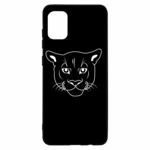 Etui na Samsung A31 Panther black