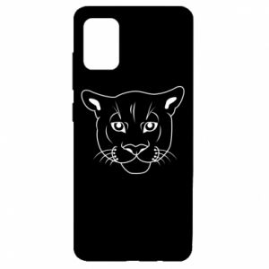 Etui na Samsung A51 Panther black