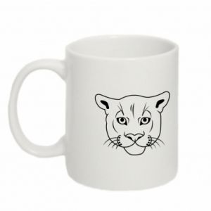 Mug 330ml Panther black