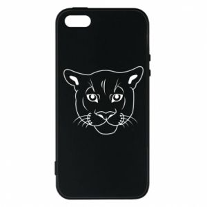 Phone case for iPhone 5/5S/SE Panther black