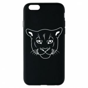 Phone case for iPhone 6/6S Panther black