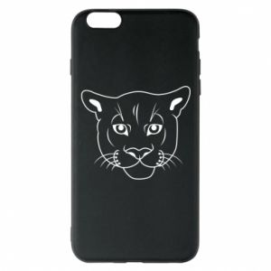 Phone case for iPhone 6 Plus/6S Plus Panther black