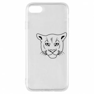 Phone case for iPhone 7 Panther black