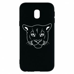 Phone case for Samsung J3 2017 Panther black