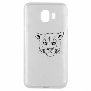 Phone case for Samsung J4 Panther black