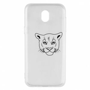 Phone case for Samsung J5 2017 Panther black