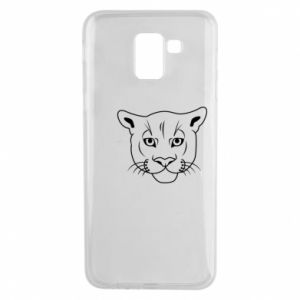 Phone case for Samsung J6 Panther black