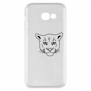 Phone case for Samsung A5 2017 Panther black