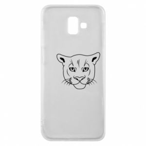 Phone case for Samsung J6 Plus 2018 Panther black