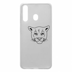 Phone case for Samsung A60 Panther black