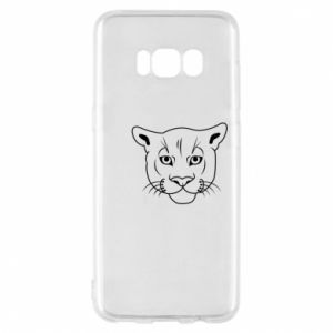 Phone case for Samsung S8 Panther black