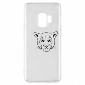 Phone case for Samsung S9 Panther black