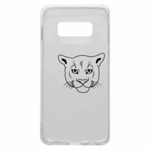 Phone case for Samsung S10e Panther black