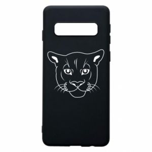 Phone case for Samsung S10 Panther black