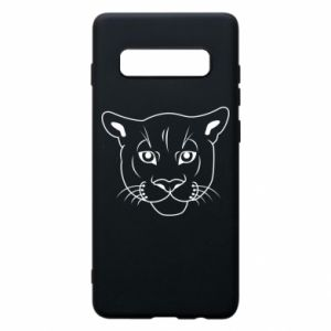 Phone case for Samsung S10+ Panther black