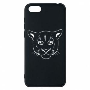 Phone case for Huawei Y5 2018 Panther black