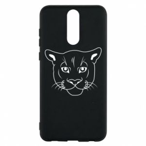 Phone case for Huawei Mate 10 Lite Panther black
