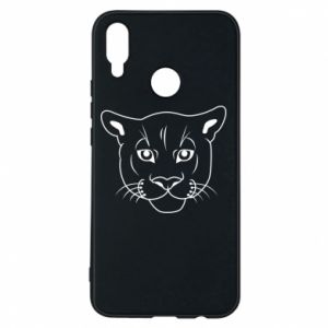 Phone case for Huawei P Smart Plus Panther black