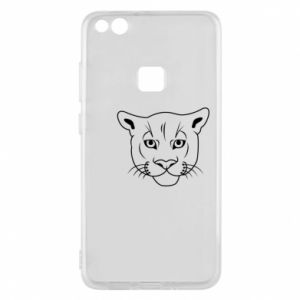 Phone case for Huawei P10 Lite Panther black