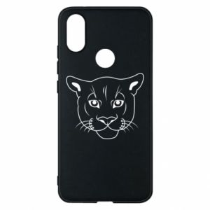 Phone case for Xiaomi Mi A2 Panther black