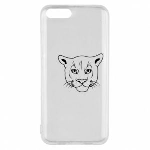Phone case for Xiaomi Mi6 Panther black