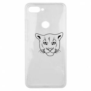 Phone case for Xiaomi Mi8 Lite Panther black