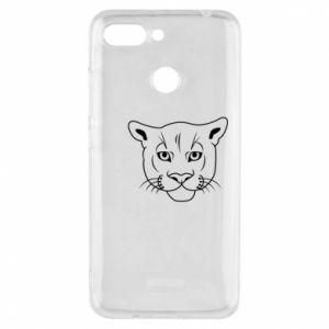 Phone case for Xiaomi Redmi 6 Panther black