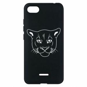 Phone case for Xiaomi Redmi 6A Panther black