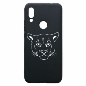 Phone case for Xiaomi Redmi 7 Panther black