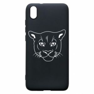 Phone case for Xiaomi Redmi 7A Panther black