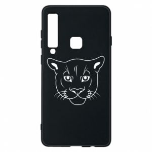 Phone case for Samsung A9 2018 Panther black
